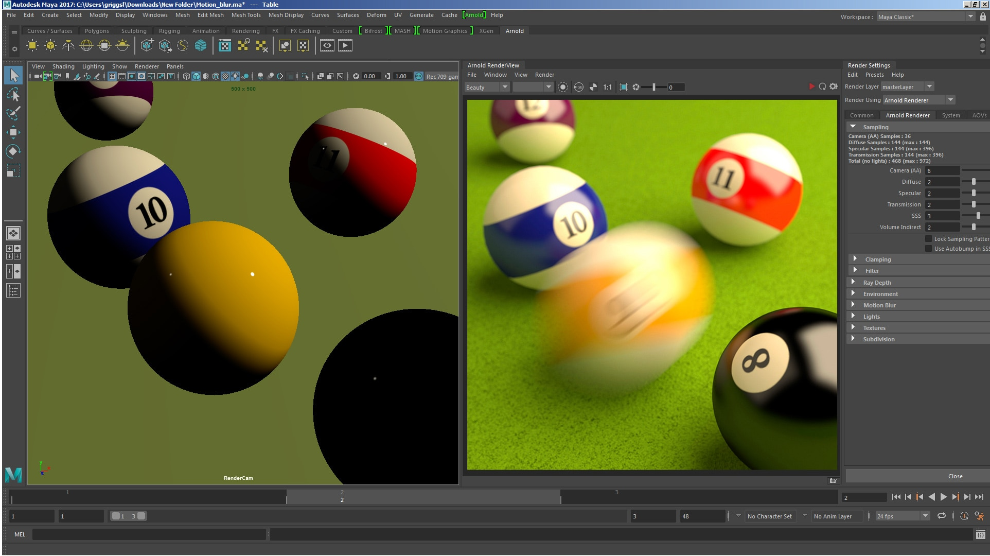 Arnold Ray-tracing Renderer Features | Autodesk