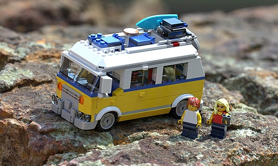 Lego van by Lee Griggs