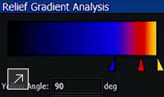 ArtCAM Premium: analysis tools