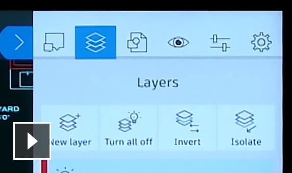Create, lock, rename, or delete layers