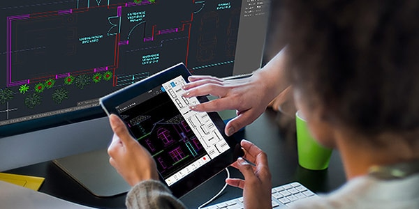 Get core drafting tools and a cohesive AutoCAD experience in the AutoCAD mobile app