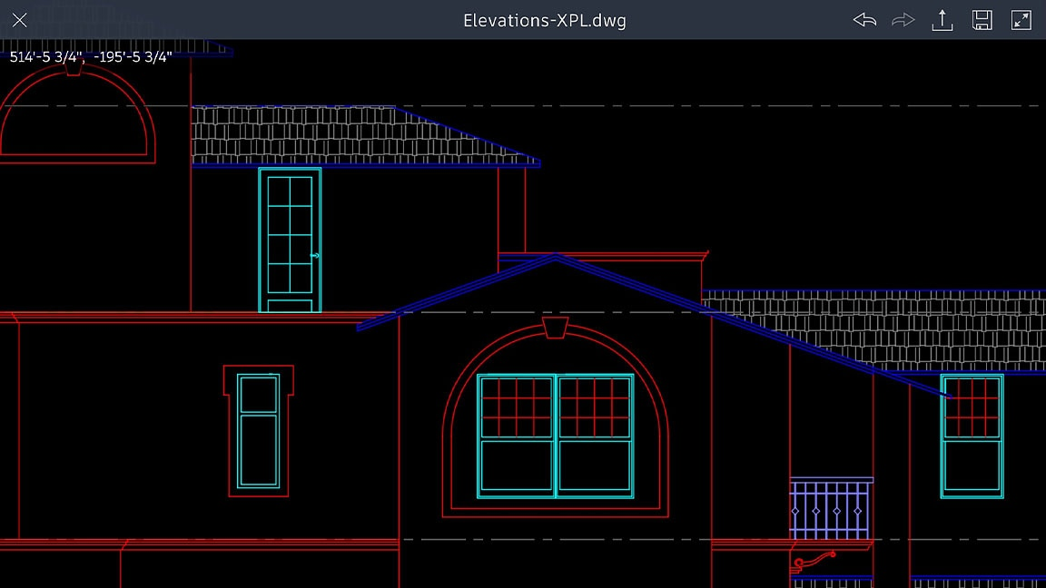 Autocad Mobile App 2d Drafting Tool On Mobile Devices Autodesk