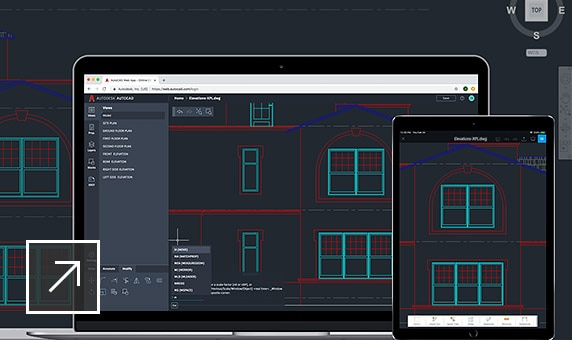 Use AutoCAD—desktop, web, mobile—on virtually any device