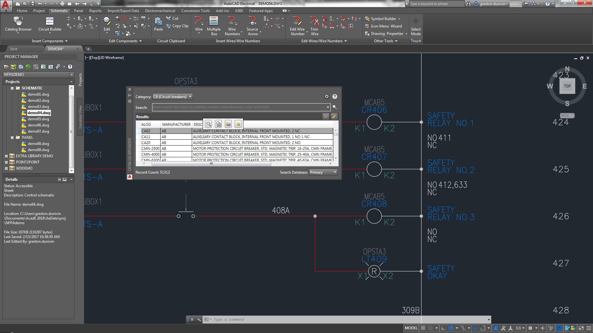 Jeu d'outils AutoCAD Electrical | Logiciel de conception