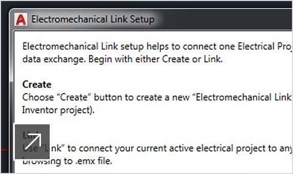 AutoCAD Electrical -työkalut sisältävät tiukan integroinnin Inventorin kanssa