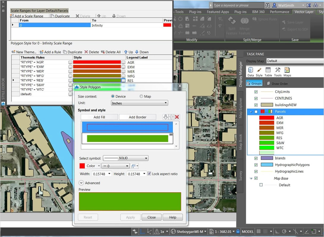 AutoCAD Map 3D Toolset | 3D GIS & Mapping Software | Autodesk