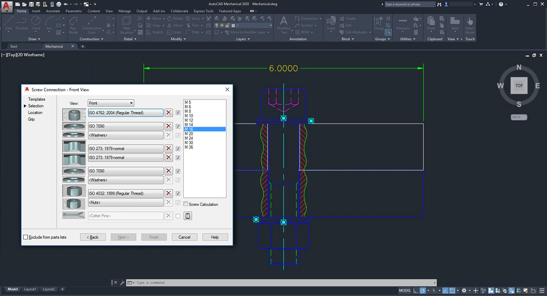 autocad mechanical toolset mechanical design software
