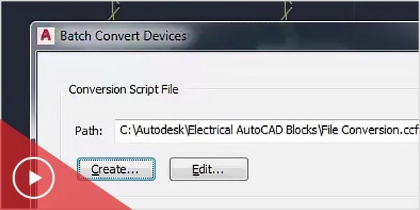 Video: The AutoCAD MEP toolset converts AutoCAD blocks