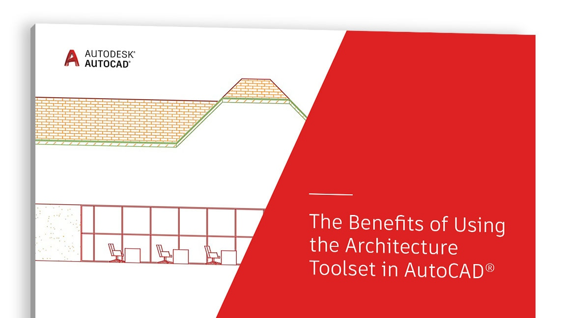 "Vista della copertina dello studio ""The Benefits of Using the Architecture toolset in AutoCAD"""