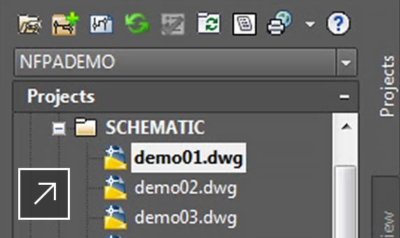 Detail view of the Properties Manager palette
