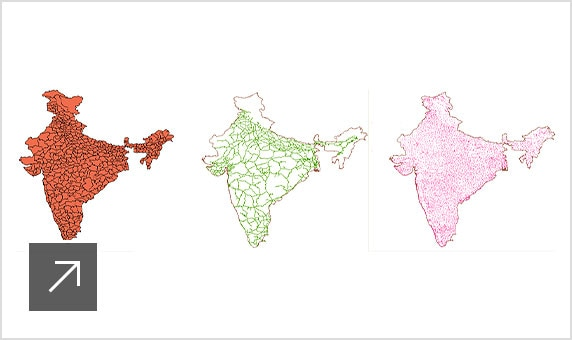 Analyzing the topology of India
