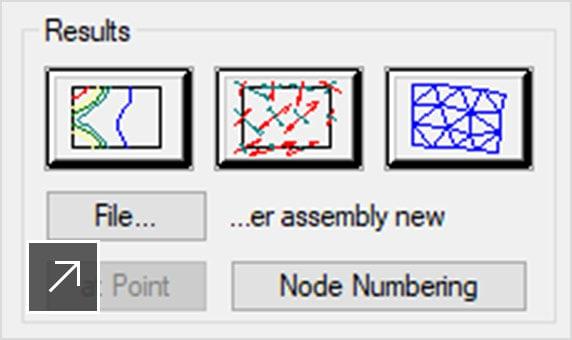 Om du vill lägga in mer detaljerade konstruktioner i ritningen finns det verktyg för generering av maskinkomponenter