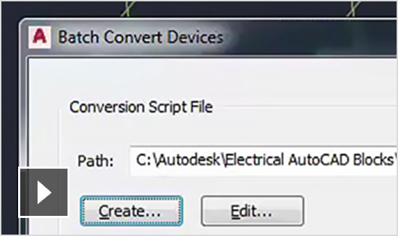 Video: Learn how the AutoCAD MEP toolset converts AutoCAD blocks