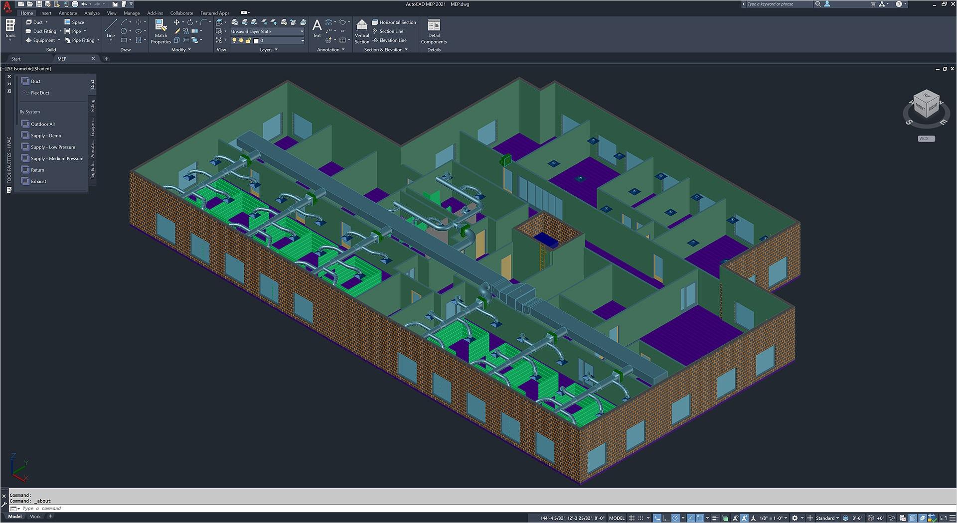Conjunto de herramientas AutoCAD MEP | Software de ingeniería para MEP |  Autodesk