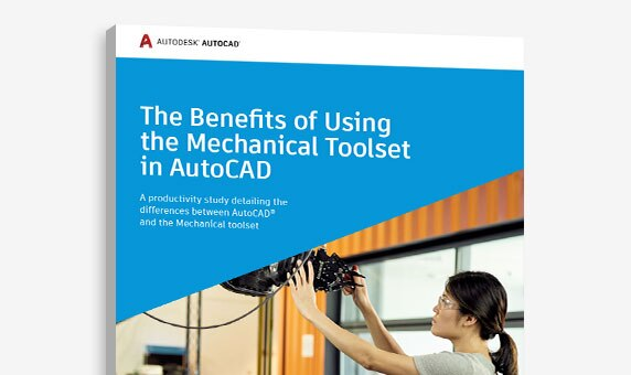 Learn about the Mechanical specialized toolset included in AutoCAD 2021