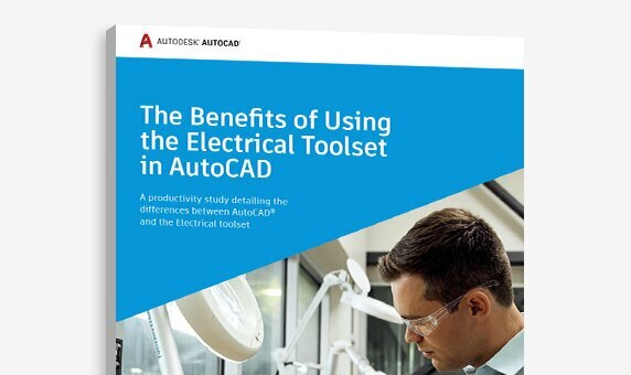 "View of the cover of ""The Benefits of Using the Electrical toolset in AutoCAD"" study"