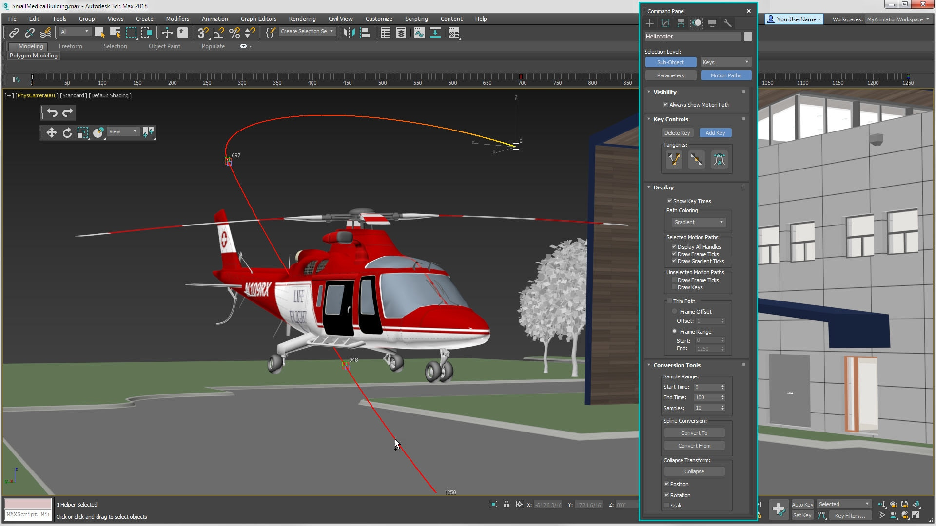 3ds Max 2019 modelling and rendering software