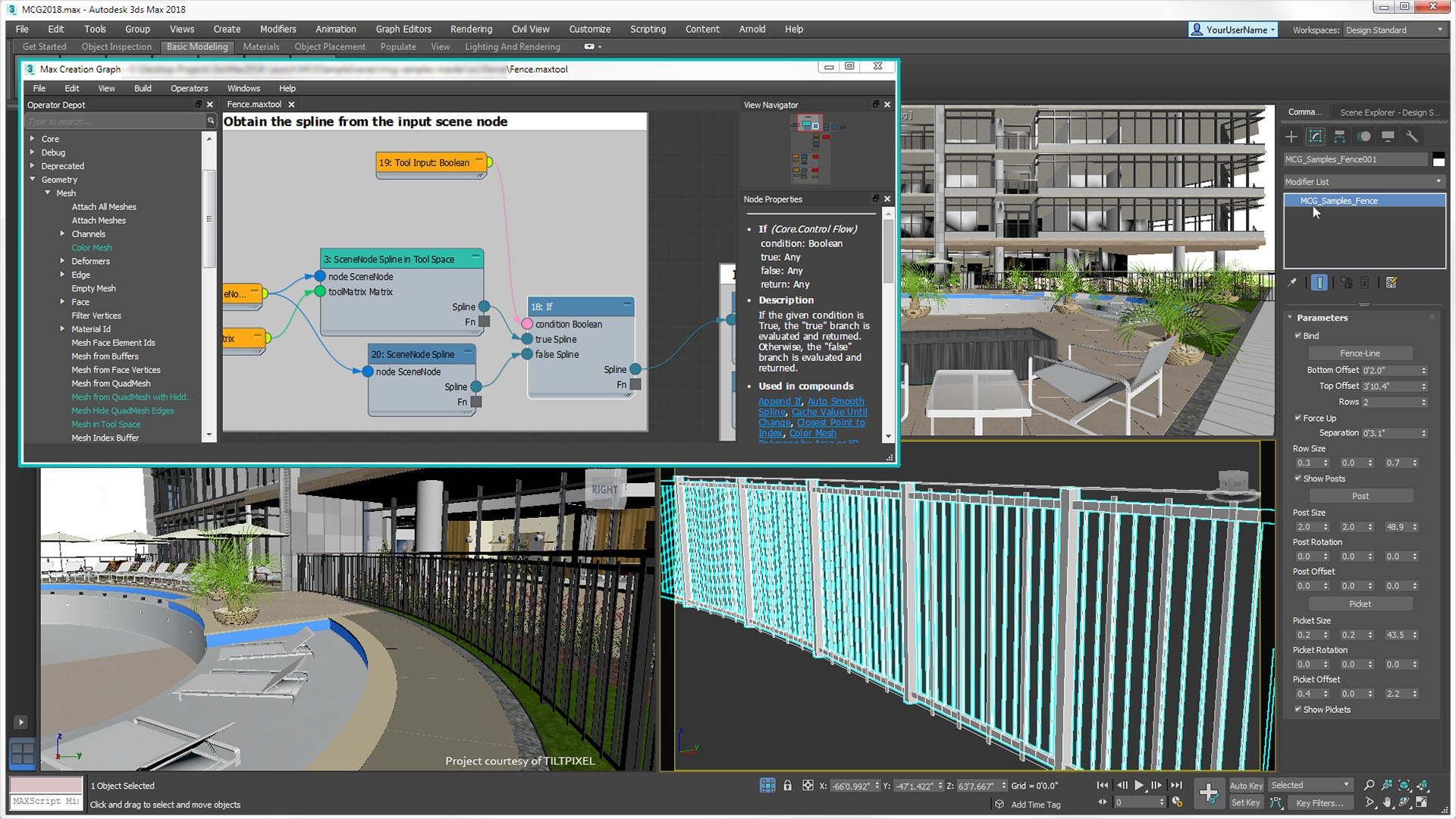 What S New In 3ds Max 2019 3d Modeling Rendering Features Autodesk