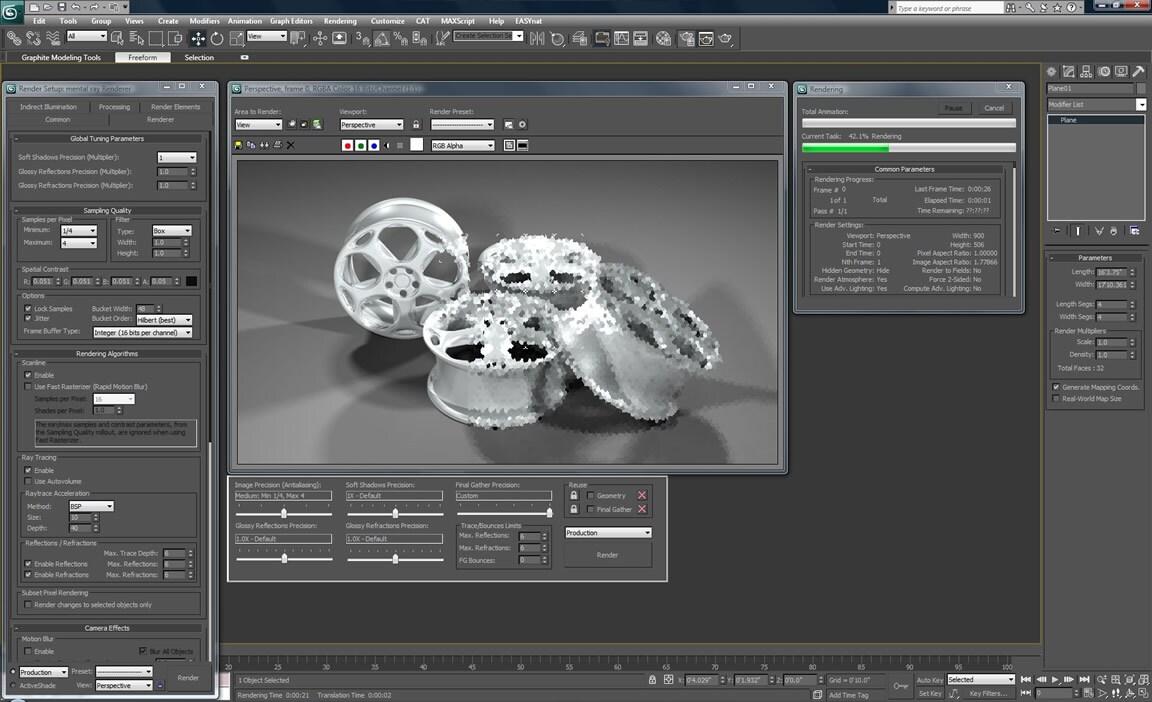 3 ds max9 визуализация видеоуроки