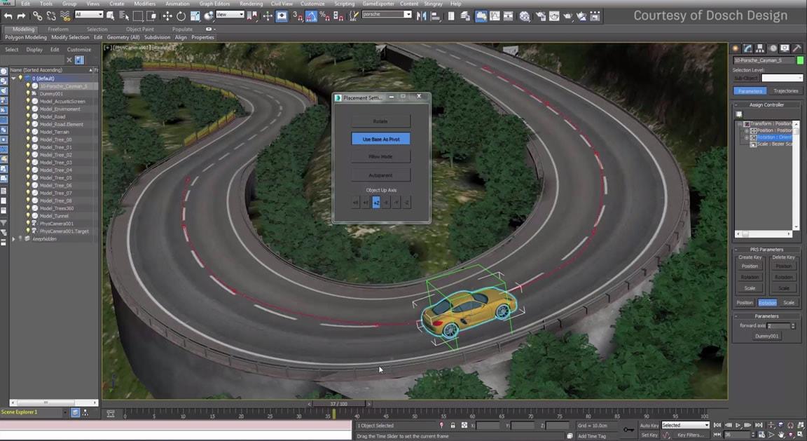 spline land plugin for 3dmax
