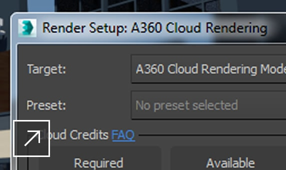 a360 rendering support