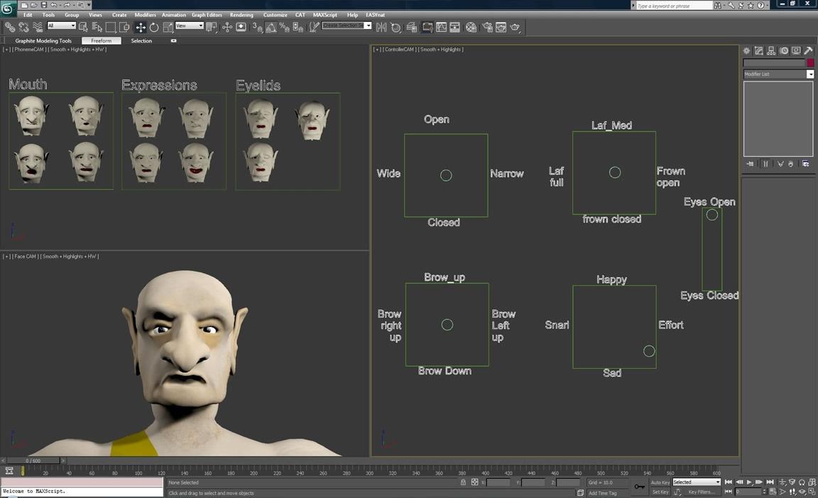 Animierte Deformer für alle Arten von Geometrie