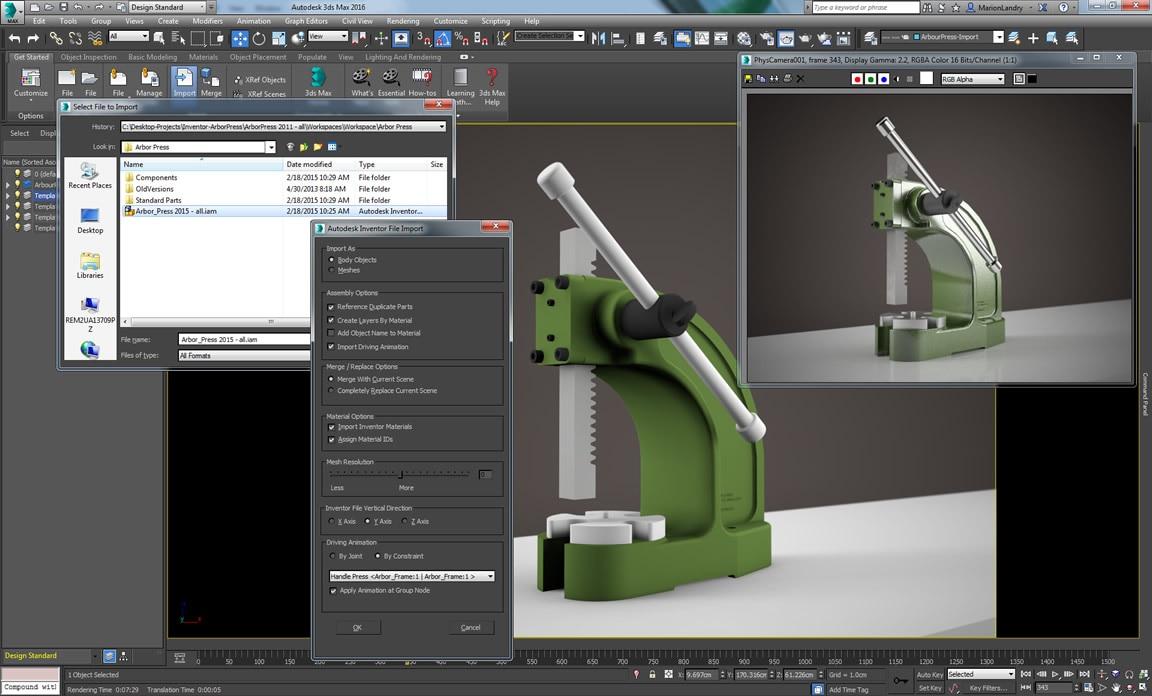 Autodesk Translation Framework logra un flujo de trabajo más suave de modelado en 3D