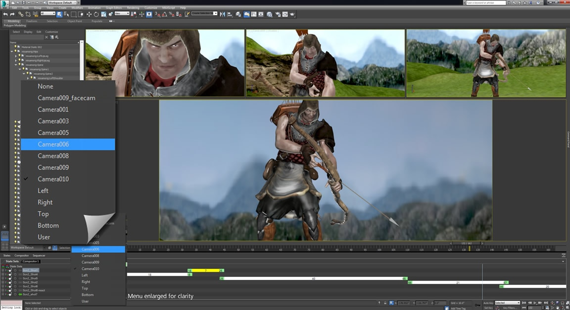 Create high-quality animated visualisations, animatics and cinematics more easily