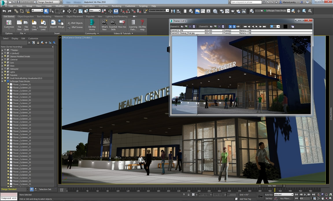 More easily access main features and streamline your 3D modeling workflow with the Design Workspace