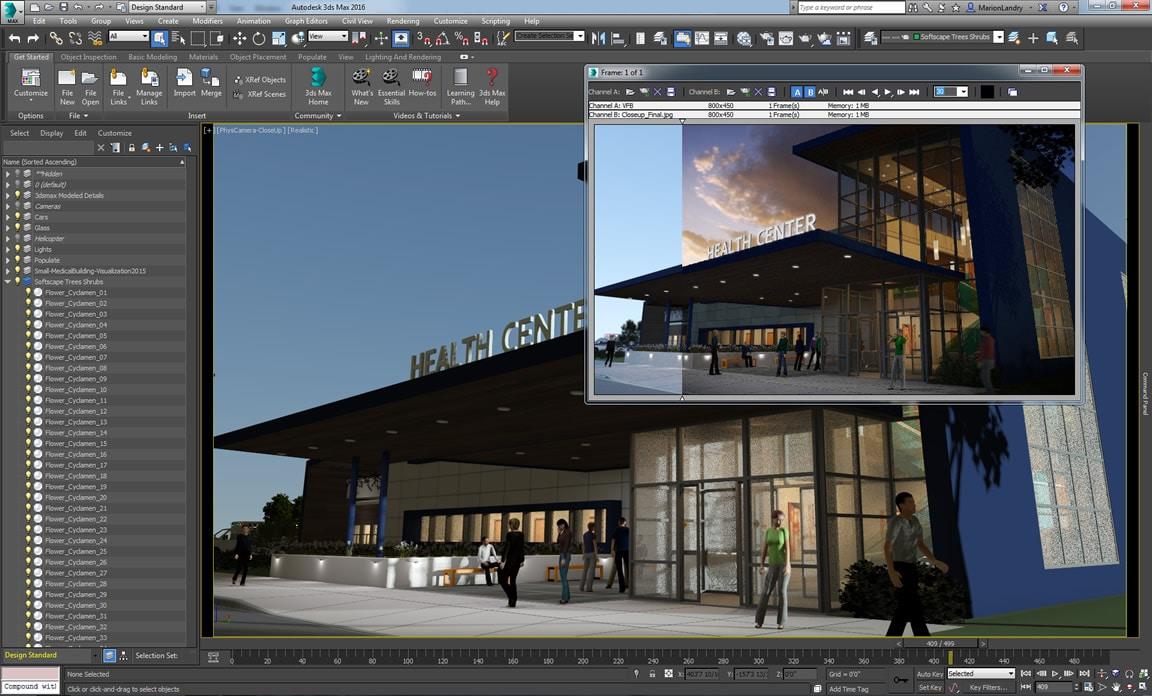 Einfacher Zugriff auf die wichtigsten Funktionen sowie Optimierung der 3D-Modellierungsabläufe im Arbeitsbereich Design