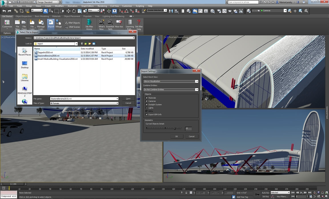 Tighter Revit integration makes importing models easier