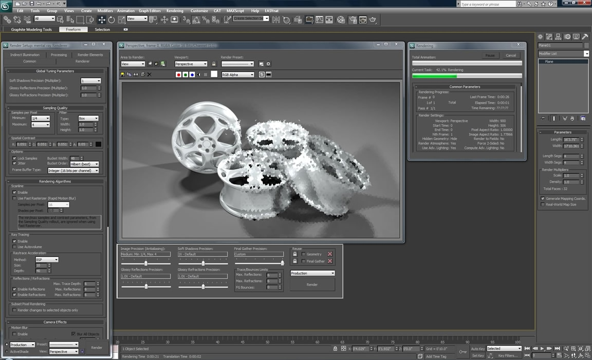 3D-Renderings mit NVIDIA-Technologie