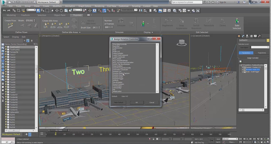新しい MCG ベースのコントローラを使用して、プロシージャ アニメーションを作成できます。