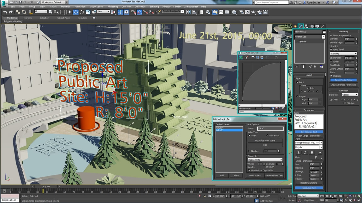 New 3ds max 2016 features tutorial videos autodesk for 3ds max design