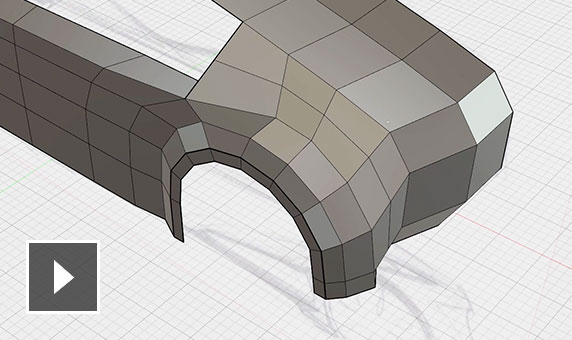 Video: Quickly craft your shape, add details, materialise, review the shape and see downstream use of your design
