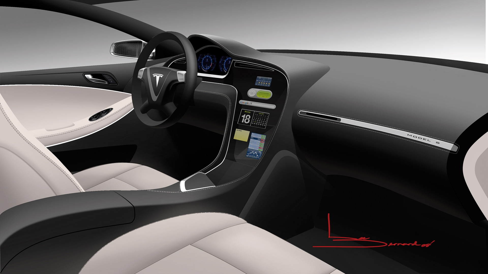 Download Free Trial Image Of Automotive Interior Made With Alias Surface