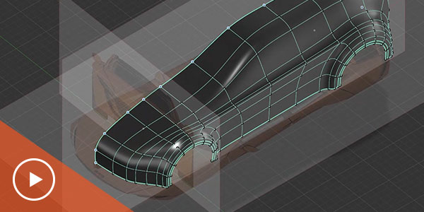Fast concept modeling for automotive design