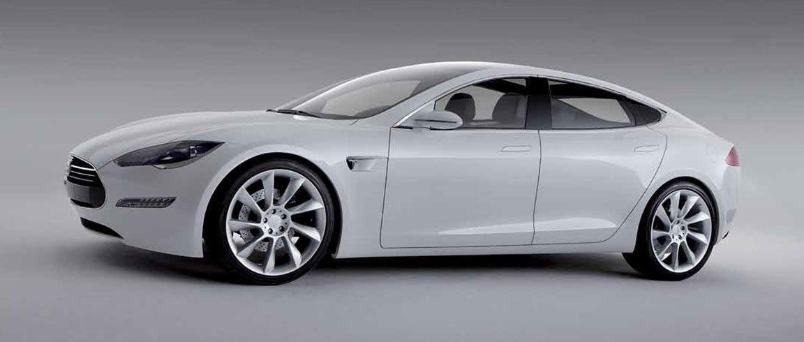 Designing an electric luxury sedan, the Tesla Model S, with Alias