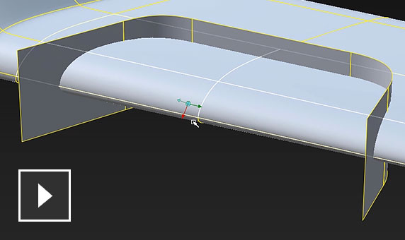 Video: Take concept modeling to a new level with the use of subdivision controls combined with NURBS tools in Alias