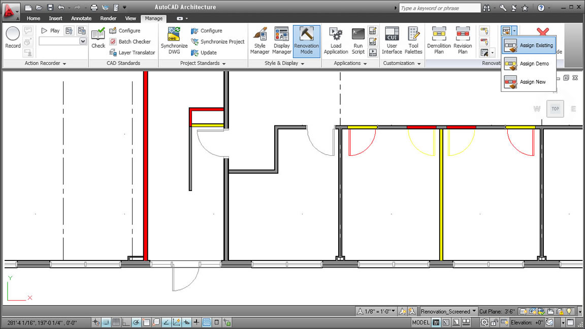 autocad architecture toolset designsoftware f r architekten. Black Bedroom Furniture Sets. Home Design Ideas