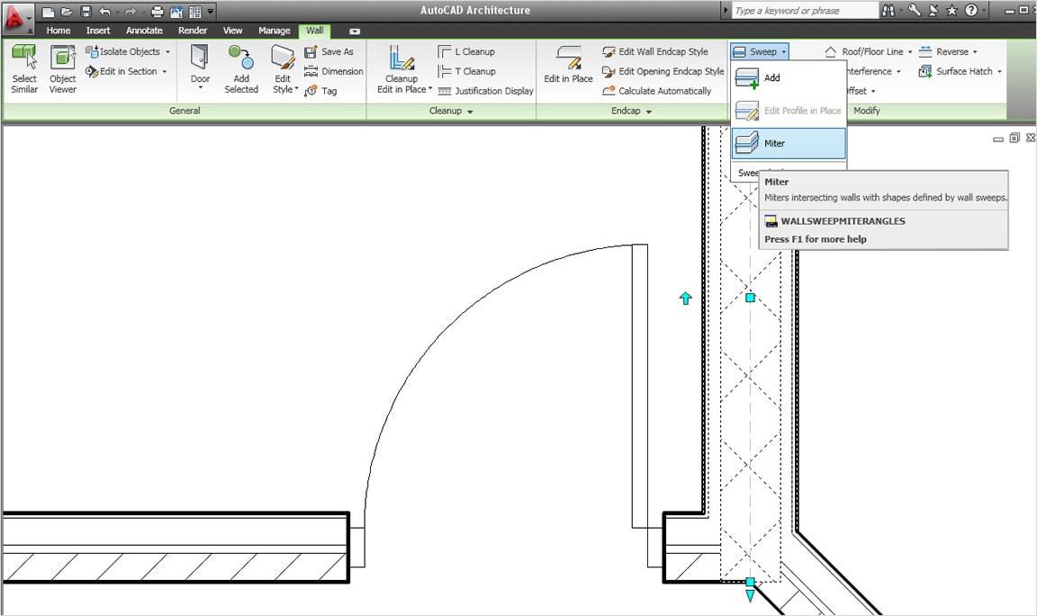 Интерфейс характеризуется улучшенной организацией, большей площадью графической области, а также ускоренным доступом к инструментам и командам