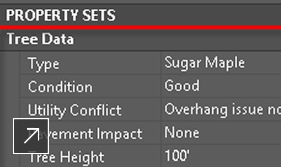 Use the Property Sets tab within the standard label style setup process to add custom properties to label styles