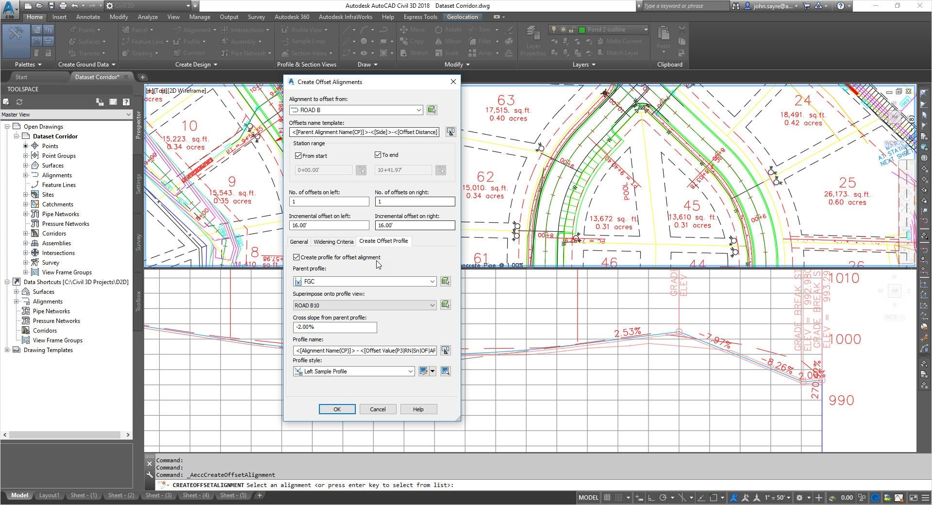 Características de Civil 3D 2019   Autodesk