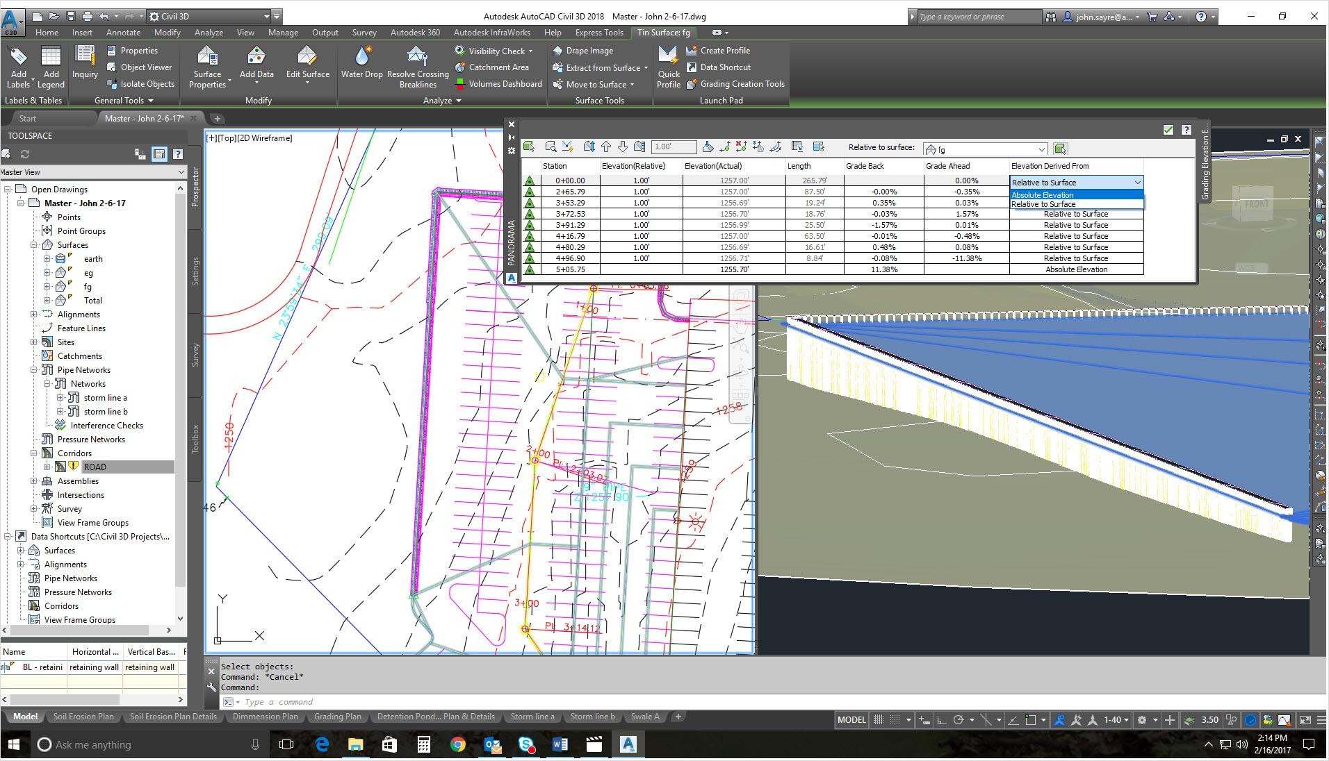 Características de Civil 3D 2019 | Autodesk