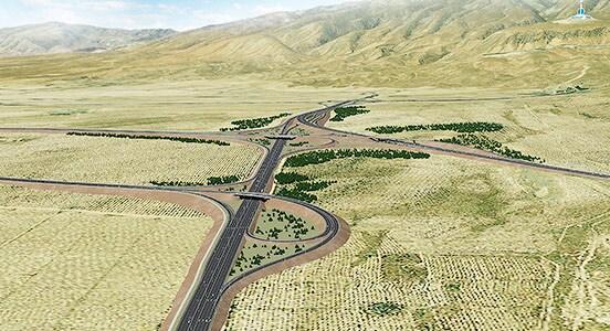 Транспортный департамент Нью-Мексико использует Civil 3D для проектирования объектов инфраструктуры