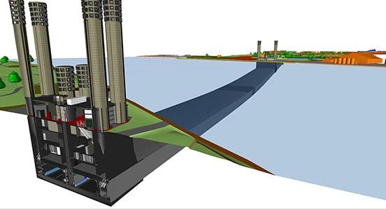 Nederlandse aannemer gebruikt AutoCAD Civil 3D en andere producten van Autodesk bij de renovatie van een tunnel
