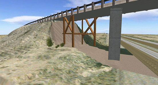 Cambray Bridge in New Mexico