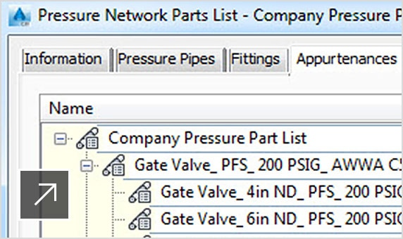 New Civil 3D features: Pressure pipes