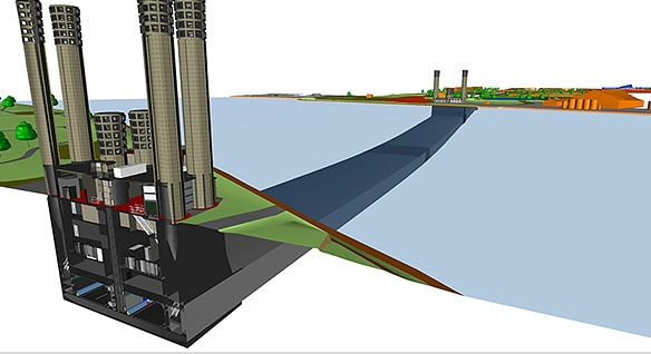 Hyacint uses Civil 3D civil engineering design software