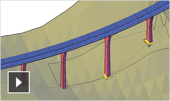 Vídeo: novo fluxo de trabalho de projeto de ponte com o InfraWorks, o Civil 3D e o Revit